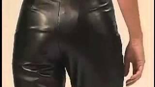 Women in Leather Pants