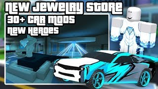 🔴Mad City ⭐ 2 new superheroes 💎New Jewelry store 🚓 30 new vehicle upgrades