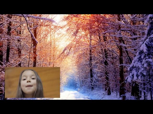 Изображение предпросмотра прочтения – АзалияСалаватова читает произведение «Первый снег» И.А.Бунина