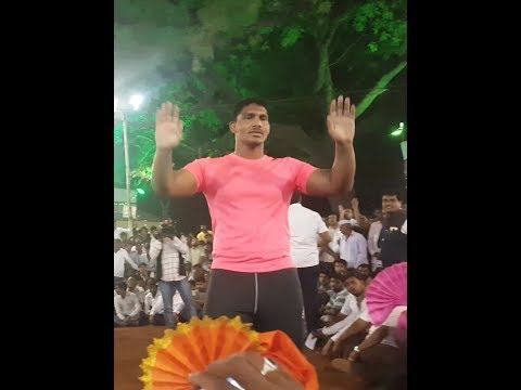 Kiran bhagat लोणी काळभोर कुस्ती मैदान01/04/18