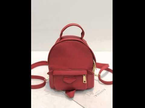 Lychee line multi-functional small shoulder bag.avi