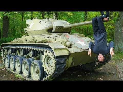 Climbing Tanks & Abandoned Bunkers