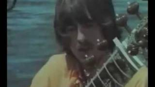 George Harrison - sitar lesson with Ravi Shankar