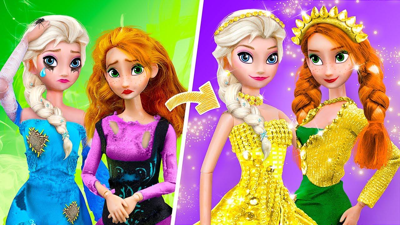 De Pobre a Rica / Trucos para Elsa y Anna