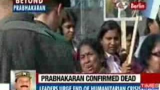 Worldwide protest over Velupillai Prabhakaran's killing