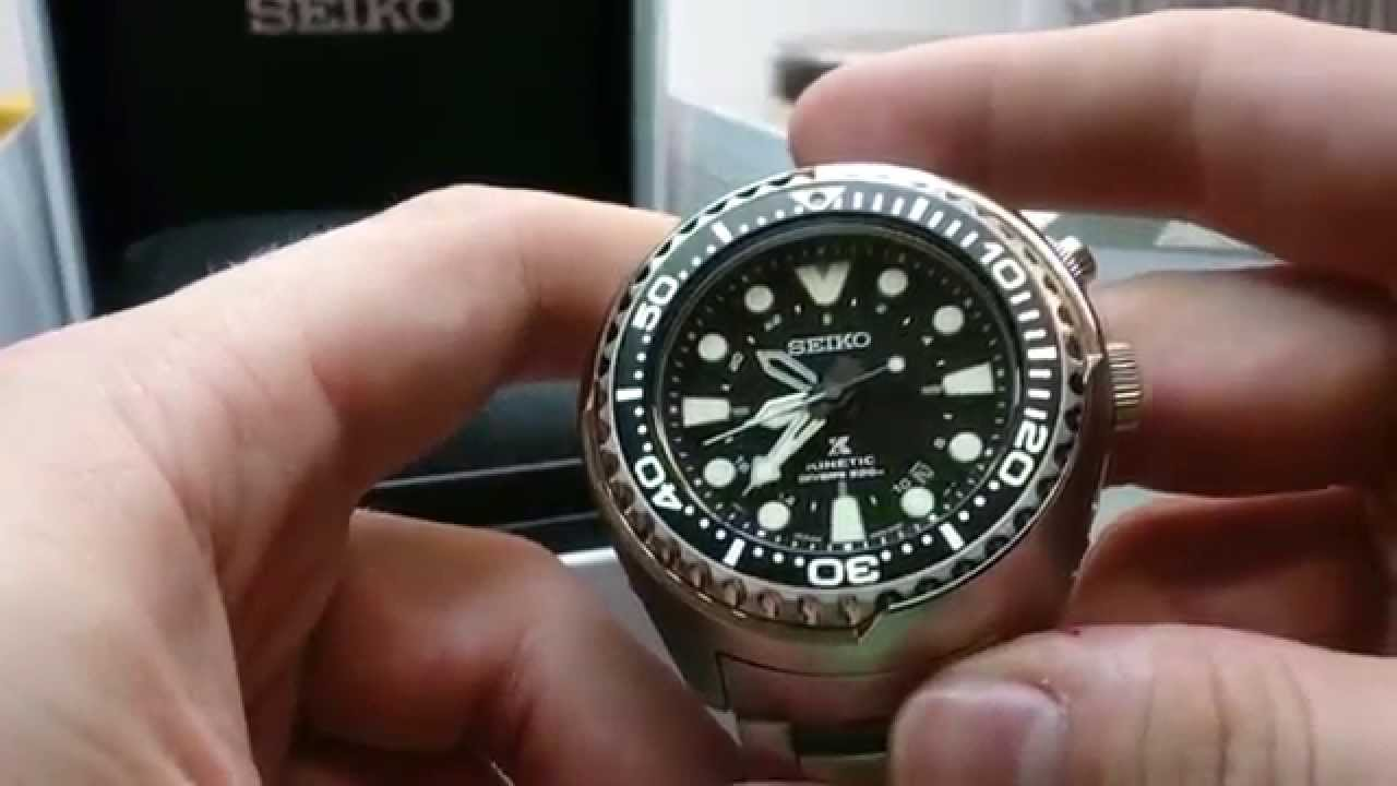 Seiko Prospex Gmt Diver Sun019p1 Kinetic Preview And Hands On Youtube
