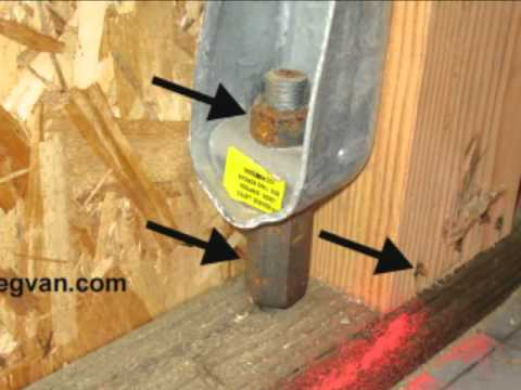 Rusting Building Hardware - New Home Construction Structural Problems