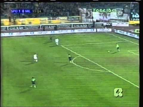 2001 December 6 Sporting Lisbon Portugal 1 AC Milan Italy 1 UEFA Cup