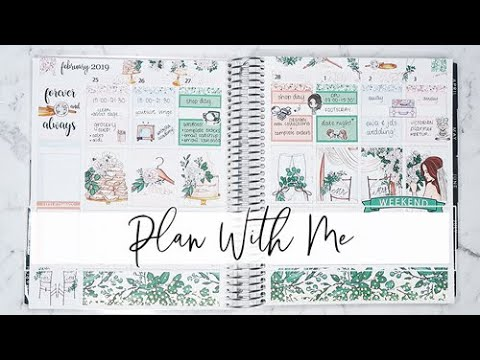 PLAN WITH ME | Ft. Unreleased Sticker Kit!