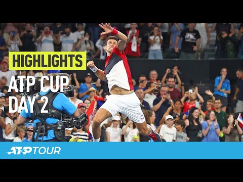 Djokovic Soars | Day 2 Highlights | ATP CUP