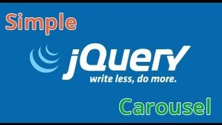 Jquery carousel slider tutorial, Jquery Slider tutorial Introduction - Pt.2 / 5