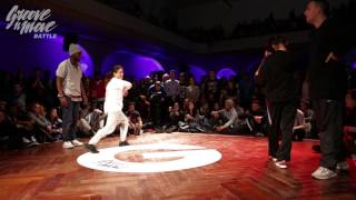 GROOVE'N'MOVE BATTLE 2015 - Hip-Hop quarter-final / Idriss&Valmira vs Goku&Sheila