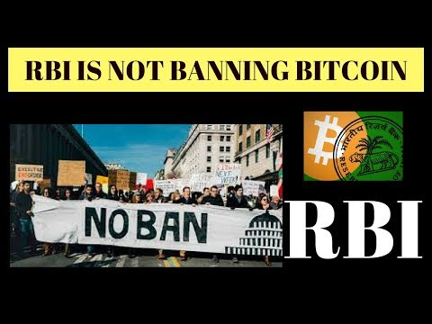 RBI NOT BANNING BITCOIN??/We Welcome Anonymous Cryptocurrencies -US FEDERAL RESERVE
