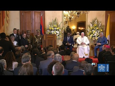 Meeting of Pope Francis with the Civil Authorities of Mauritius 9 September 2019 HD