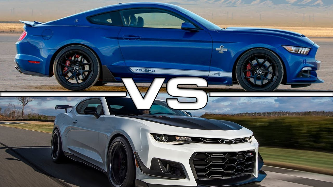2017 Ford Mustang Shelby Super Snake Vs 2018 Chevrolet