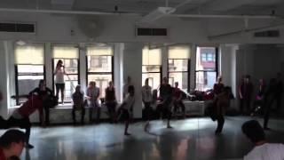 Powerful Love, Emily Bass, Beg. Contemporary/Modern, Broadway Dance Center