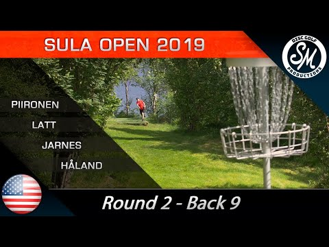 Sula Open 2019 | Round 2 Back 9 | Piironen, Lätt, Jarnes, Håland *English*
