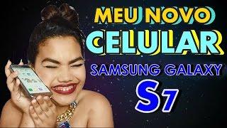 COMPREI O SAMSUNG GALAXY S7!