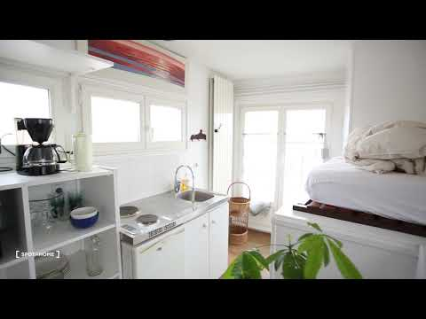Bright studio apartment for rent near Paris-Sorbonne University in the... - Spotahome (ref 208175)