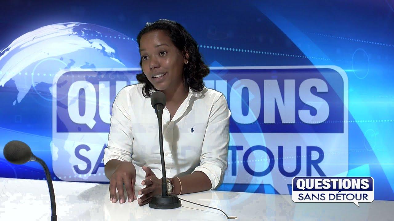 Christine Rambinaïsing responsable des Pompes Funèbres Guadeloupéennes répond au question sur ETV