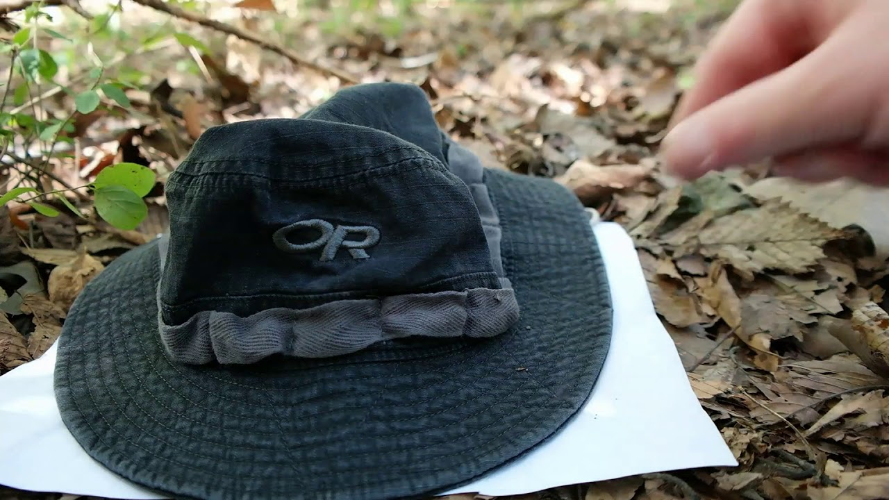 Outdoor Research Congaree Sun Boonie EDC Hat Review - YouTube 44f8374a67f
