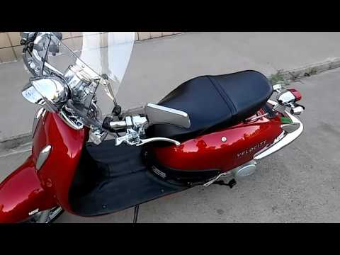 Review - 08' Velocity 150cc 4 Stroke Retro Scooter