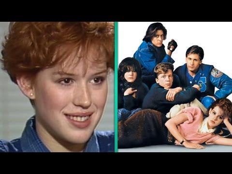 FLASHBACK: Molly Ringwald Was Worried She Wasn't Pretty Enough for 'The Breakfast Club'