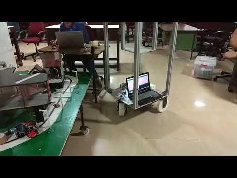 Industrial Line Following Vehicle-(CSD Lab NITK)