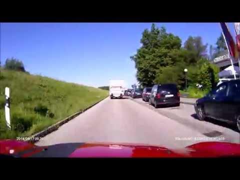 Villach to Munich 17 August 2014 (Rollei CarDVR-110)