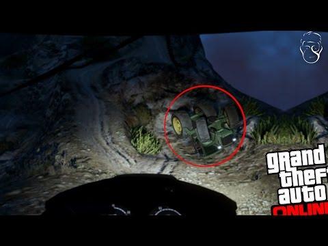 GTA 5 ONLINE | A cazut cu tractorul de pe munte!