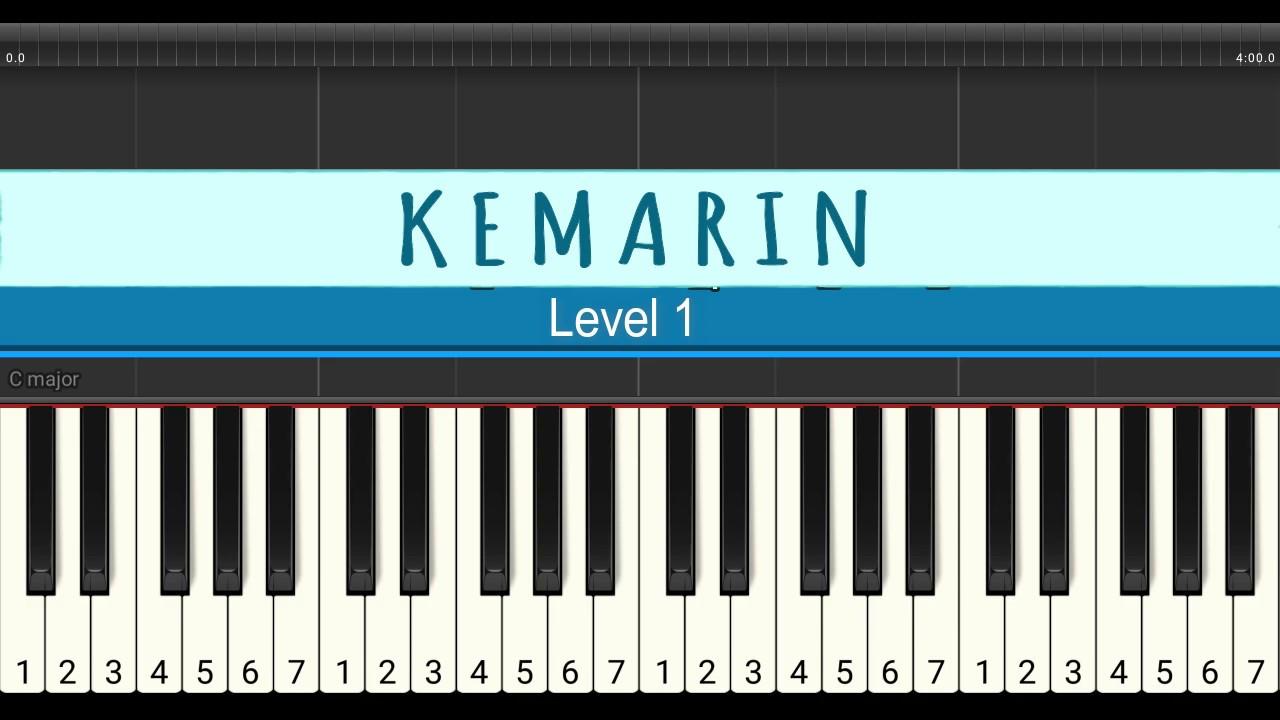 Not Piano Kemarin Seventeen Tutorial Piano Level 1 Youtube