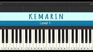 not piano kemarin - seventeen - tutorial piano level 1