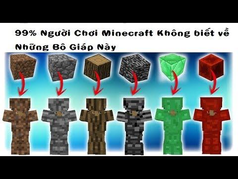 99% Người Chơi Minecraft Không Biết Tới Những Bộ Giáp Này !!!
