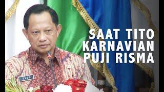 Hormat Tito Karnavian Pada Tri Rismaharini Saat Memujinya Berkali-kali