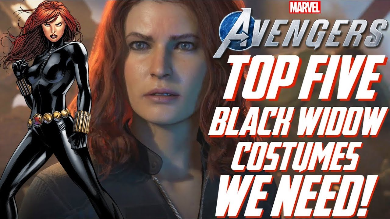 The Avengers Project Top 5 Black Widow Costumes We Need In Marvel S Avengers Youtube