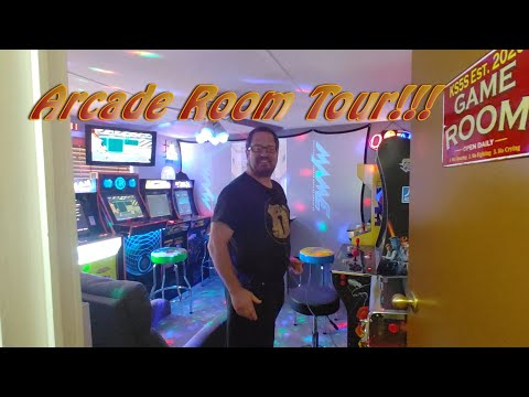 Home Arcade Room Tour!!! from Patrick D. Neary