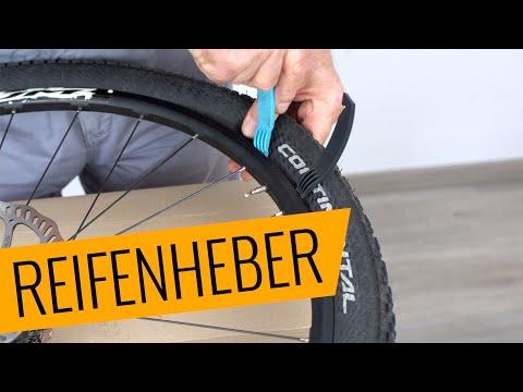 Fahrrad Reifenheber Richtig Verwenden Fahrrad Org Youtube