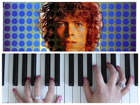 SPACE ODDITY Piano Tutorial (David Bowie)   EASY