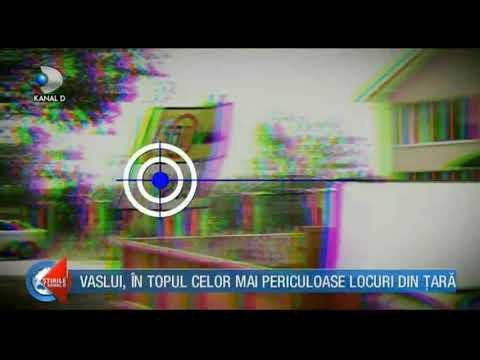 Vaslui,ocupă locul 3 in topul celor mai periculoase orase din românia