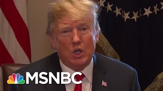 President Donald Trump Waving The White Flag On Migrant Children | Craig Melvin | MSNBC