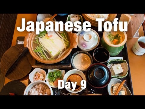 Kyoto Attractions & Japanese Tofu Meal