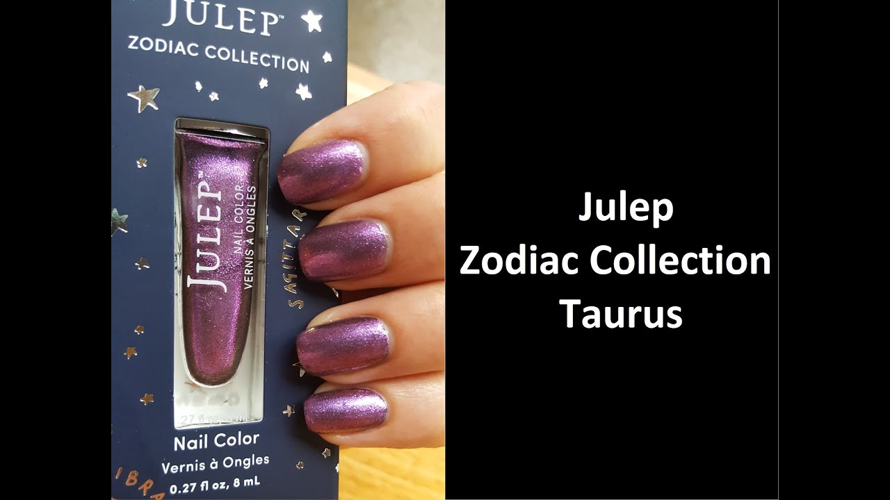 New Julep The Zodiac Collection: Taurus - YouTube