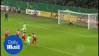 German Cup Highlights: Wolfsburg 1-0 Freiburg - Daily Mail