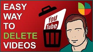 Easy way : Delete YouTube Videos 2020