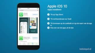 Tips & Tricks - Apple iPhone: Apps installeren (iOS 10)
