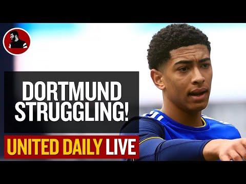 Dortmund Struggling To Agree Bellingham Fee! | Man Utd Latest News