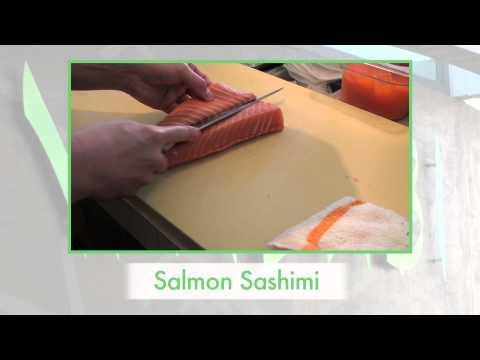 Salmon Sashimi | © 2011 Wasabi Sushi Bar