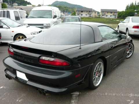 Camaro Z28 Black with Japanese Body Kit