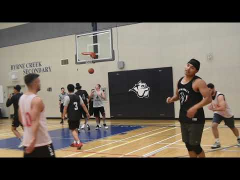 2019 Burnaby Fall League - Reds Vs Missed 3s - Roundball BC Mens Basketball League