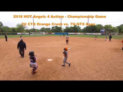 2018 HOT Premier Tournaments - Angels 4 Autism Benefit - Championship Game vs. NTX Aces (7U)
